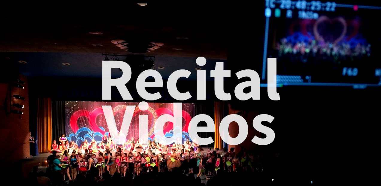 Dance Recital Videos on DVD, Blu-ray Disc, and download
