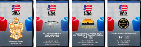 USA Boxing Tournament DVDs