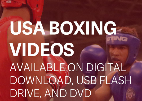 Boxing Videos for USA Boxing, Ringside, Silver Gloves, and Golden Gloves